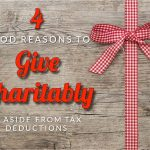 Paredes' Four Good Reasons To Give Charitably, Aside From Tax Deductions