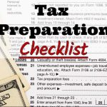 New Era Tax & Accounting's 2017 Tax Preparation Checklist